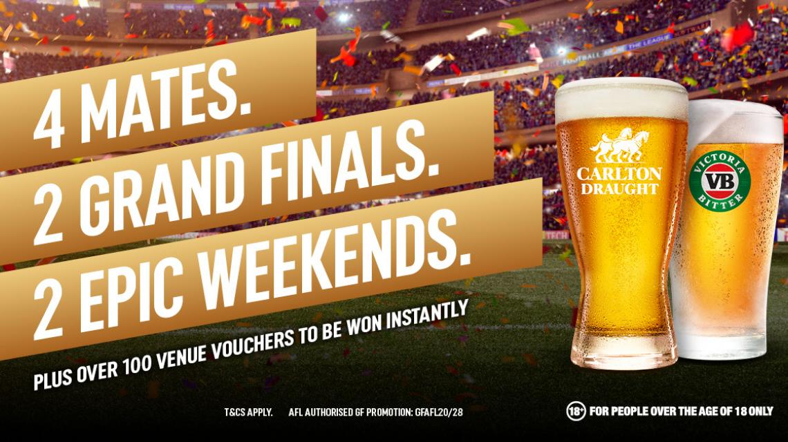 Win NRL & AFL Prizes at the Regent!